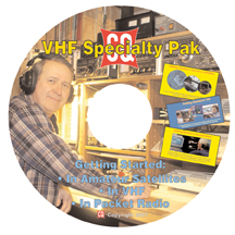 CQ VHF Specialty Pak 3 in 1 DVD