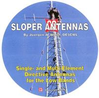 this CD shows which basic concepts have to be considered for sloper antennas for the low bands.This title is also available in its original 6 X 9 paperback version.Buy both the paperback and CD and save! See Sloper Combo.