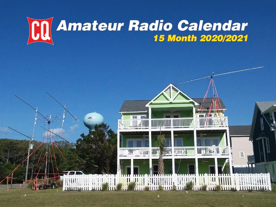 2020/21 CQ Amateur Radio Operators Calendar – shipping to FN – CQ
