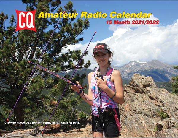 2021/22 CQ Amateur Radio Operators Calendar – shipping to FN – CQ